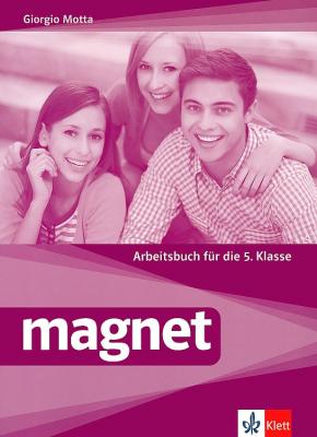 Magnet - ниво A1: Учебна тетрадка по немски език + CD, 5 кл. - изд. Клет България