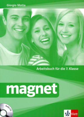 Magnet: Учебна тетрадка по немски език + CD, 7 кл. - изд. Клет България